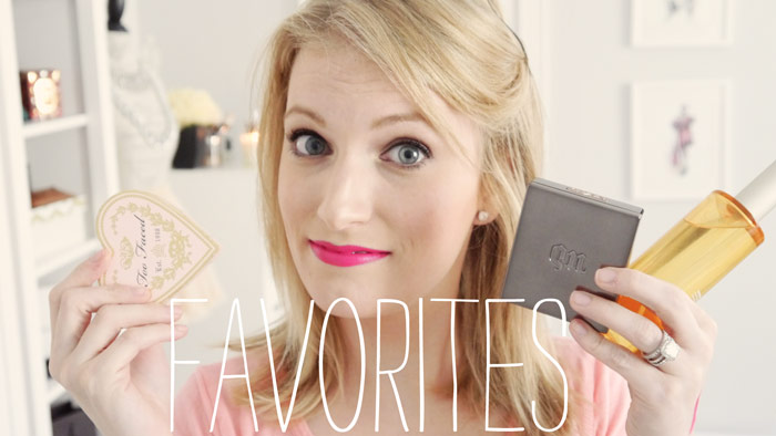 Favorite beauty products throughout the month of July 2013
