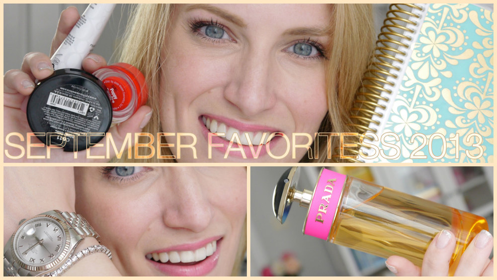 September Monthly Favorites 2013