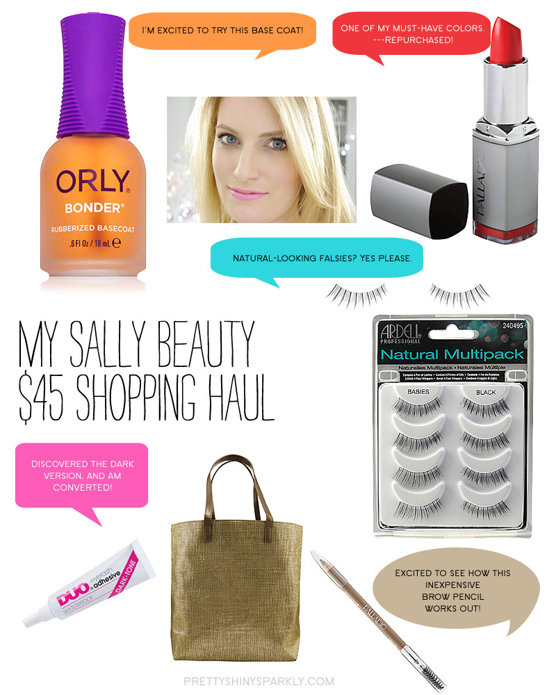 Sally Beauty $45 Shopping Haul Giveaway Contest