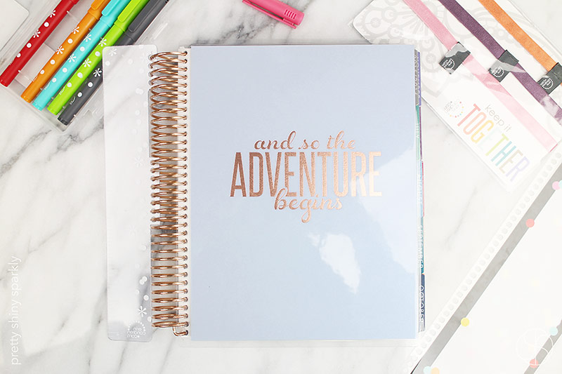 Erin Condren Life Planner Rose Gold Edition