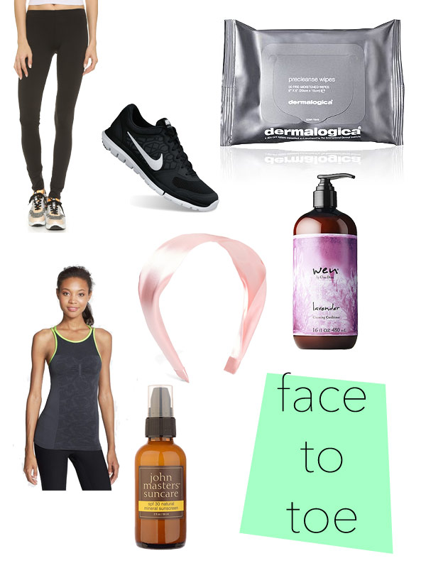 Face to Toe: Fitness