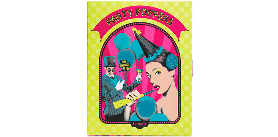 Benefit Party Poppers 12 Days of Gorgeous