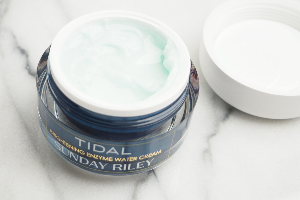 Sunday Riley Tidal Brightening Enzyme Water Cream Review