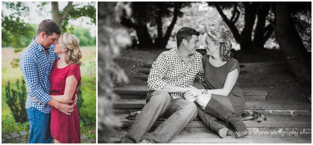 massachusetts fall engagement photography