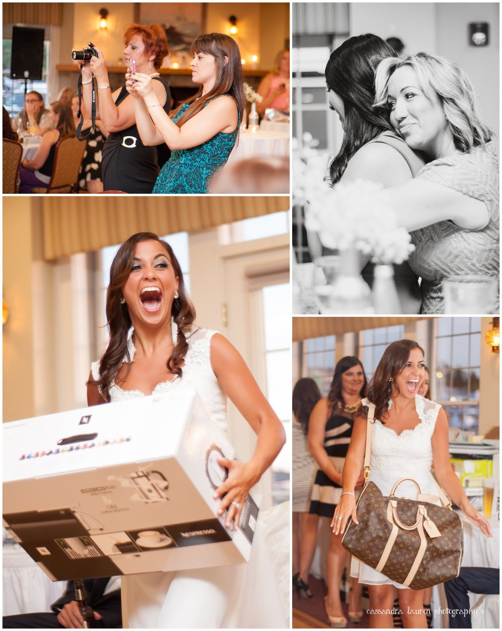 Bridal Shower Excitement pictures gloucester ma