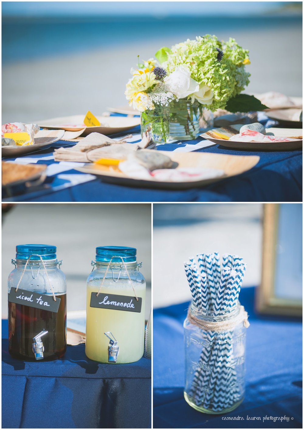 Nautical Summer Wedding Photography Essex MA