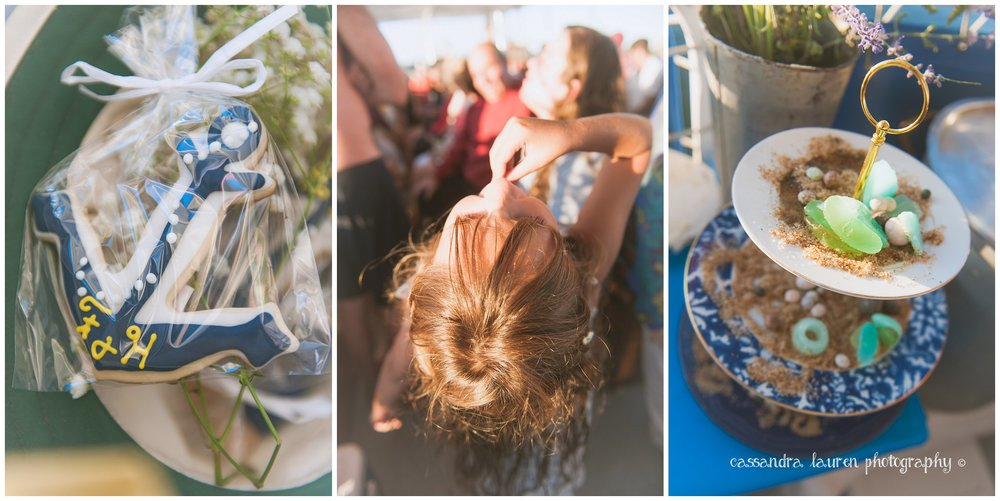 Nautical theme wedding photographer Massachusetts