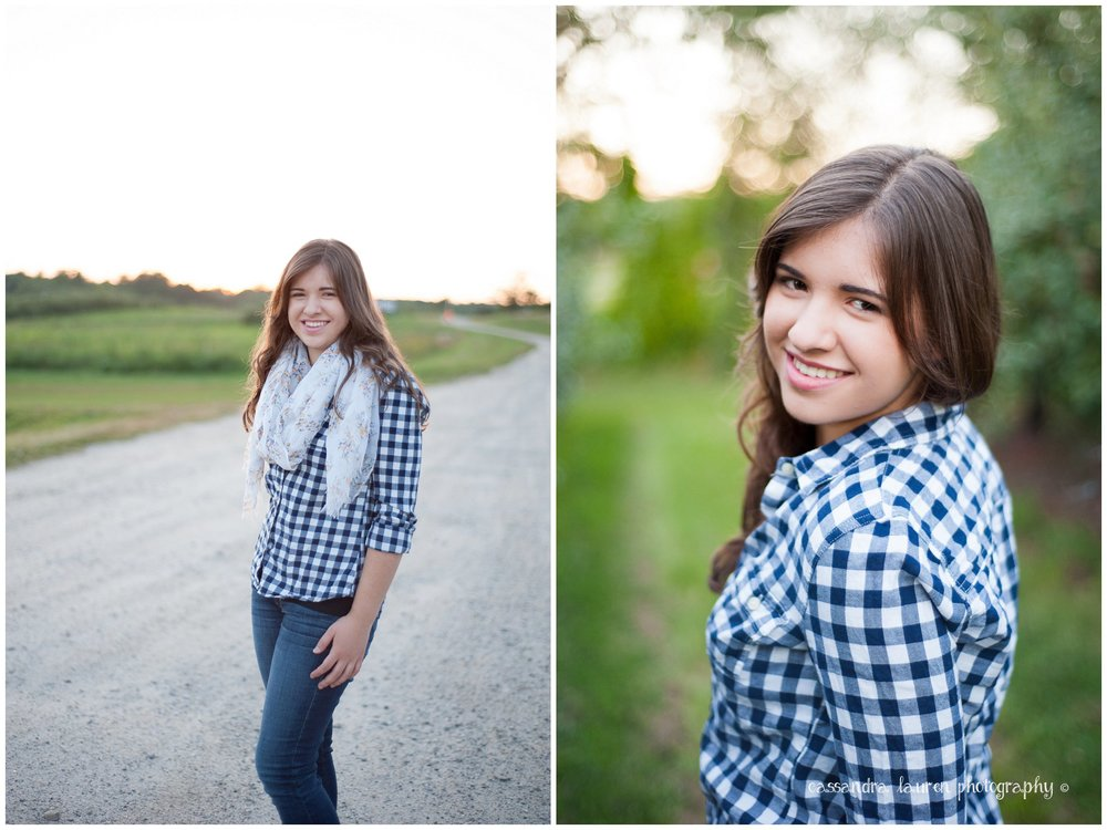 Fall Senior Pictures Southern NH portrait photographer