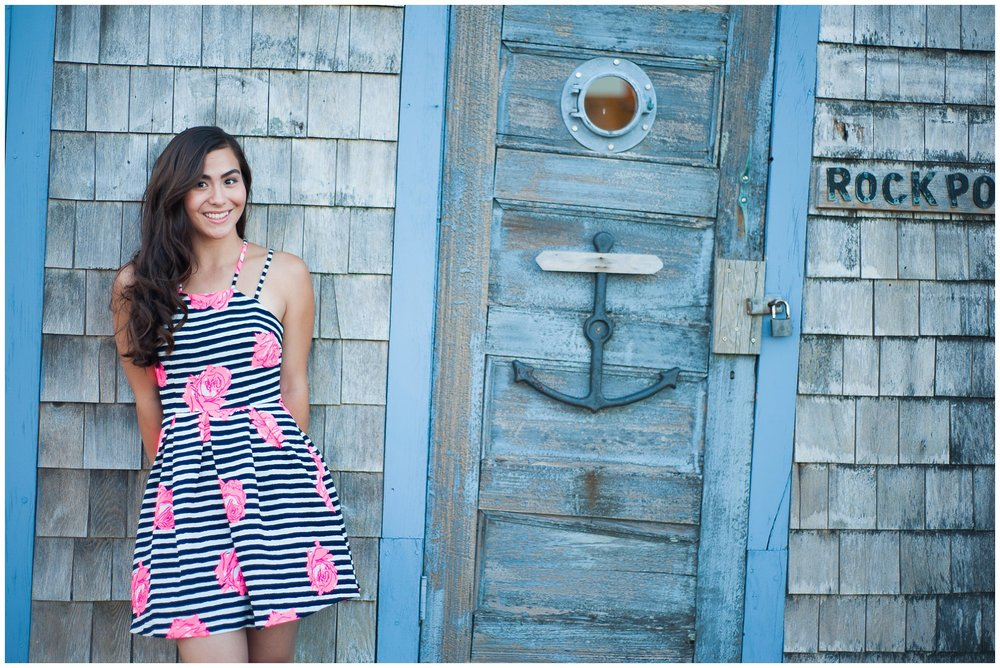 Northshore MA HS Senior Pictures Portrait Photographer Rockport