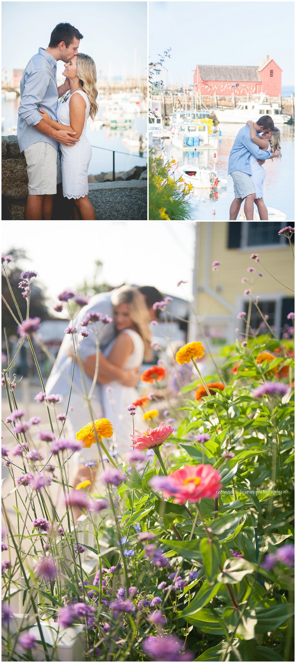 Motif #1 Rockport MA summer engagement session photographer