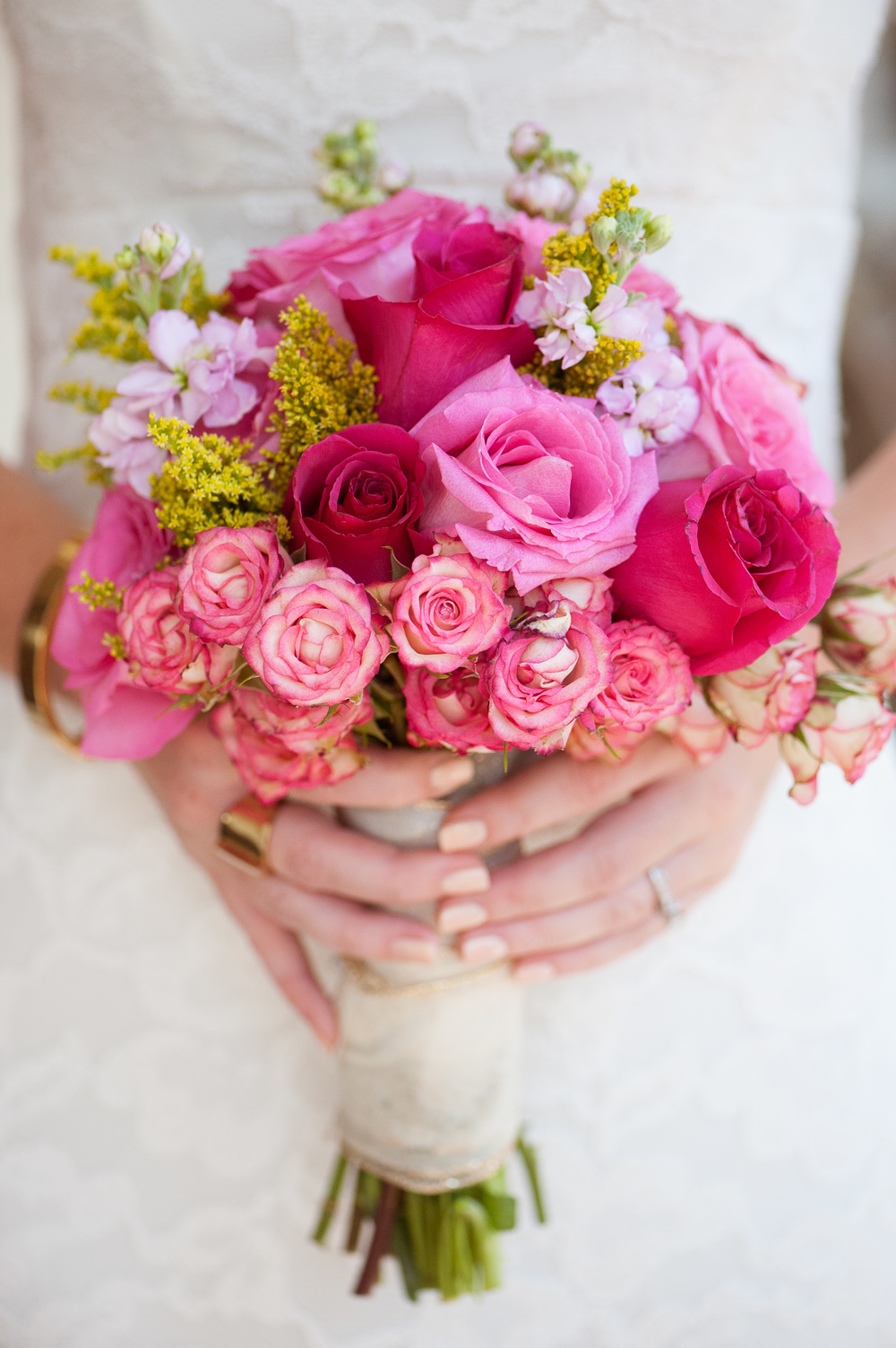 DIY Bridal Bouquet Lake Quannapowitt Wakefield MA wedding photographer