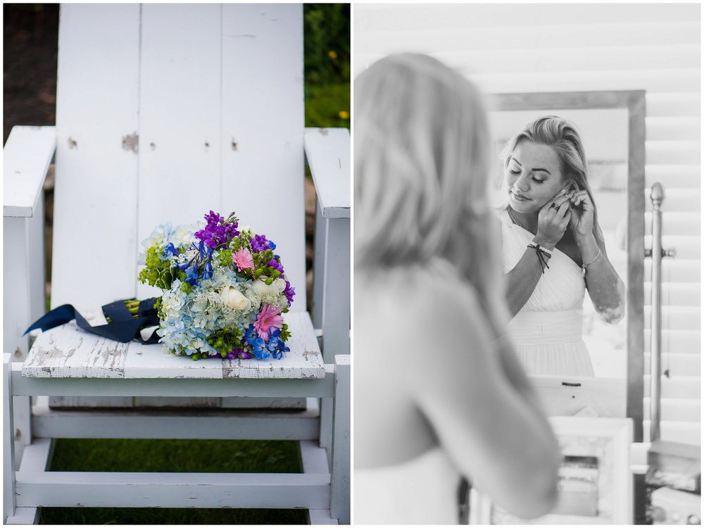 Rockport MA intimate wedding ceremony