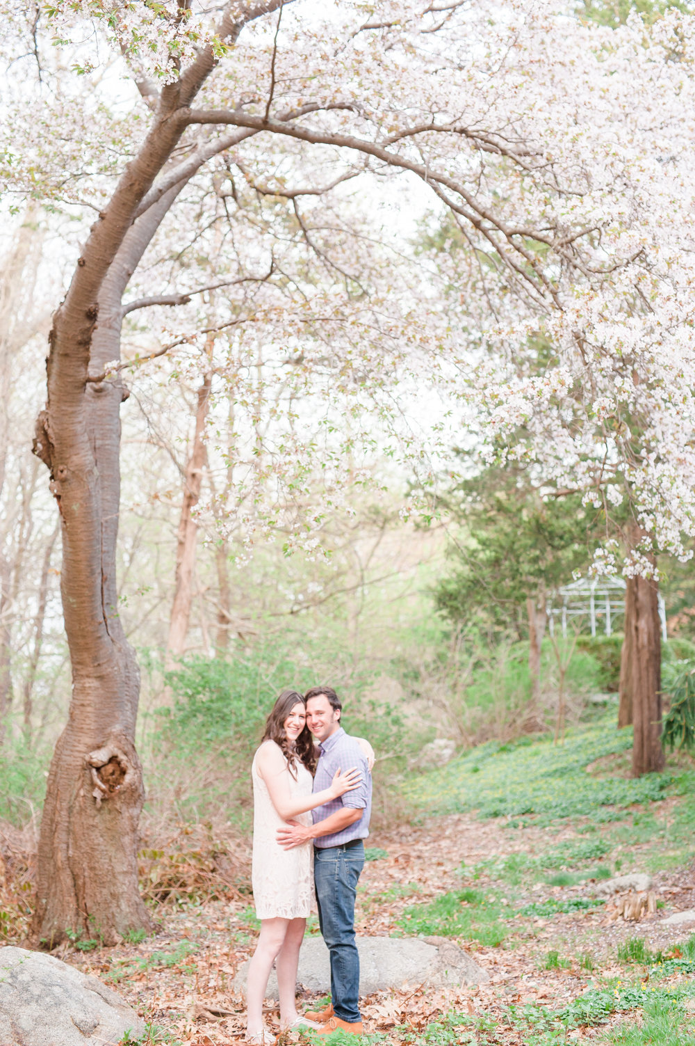Sean and Nicole Beverly spring blossom engagement-4.jpg