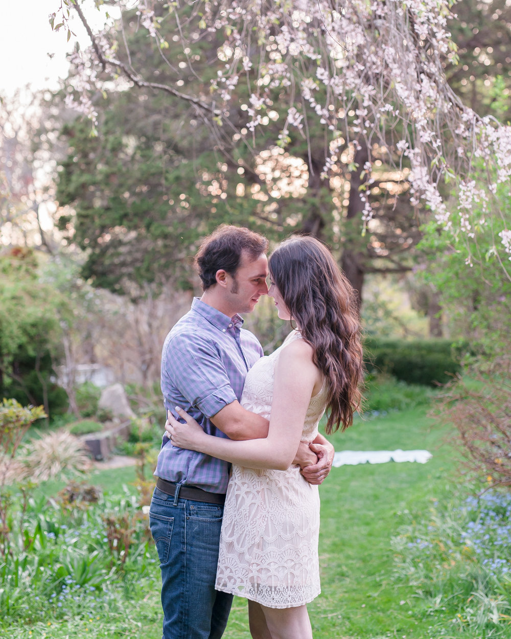 Sean and Nicole Beverly spring blossom engagement-40.jpg