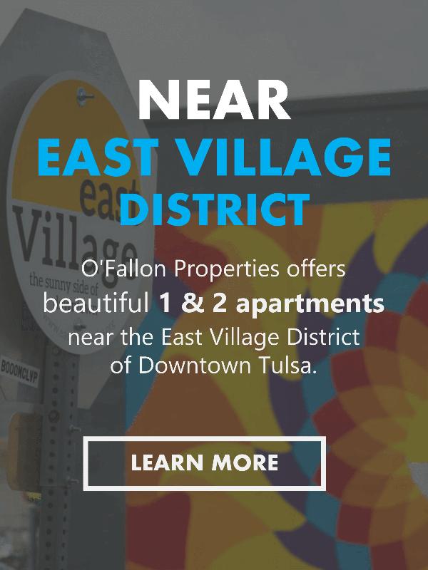 Midtown Tulsa Apartments Near the East Village District Area