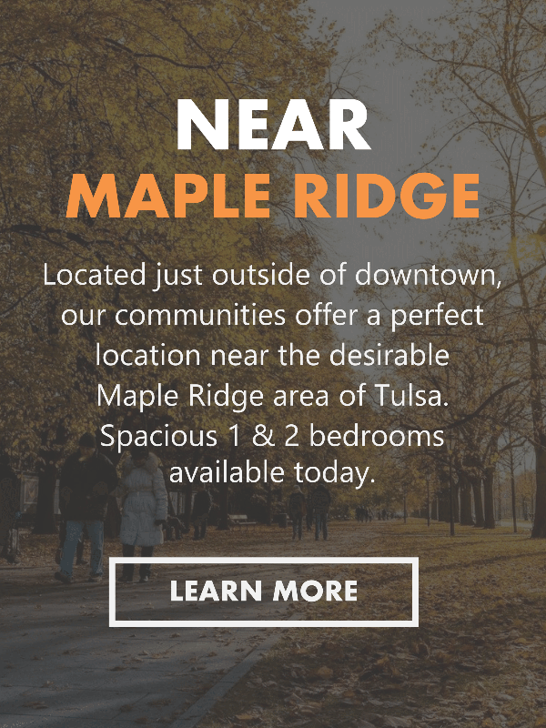 Maple Ridge Area Apartments in Midtown Tulsa