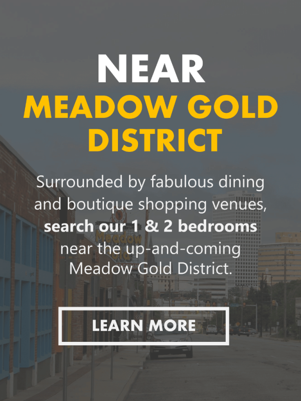 Best Apartments in Tulsa Near the Meadow Gold District