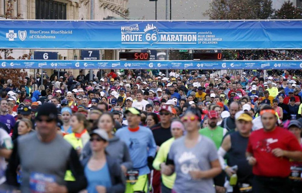 Route 66 Marathon in Tulsa