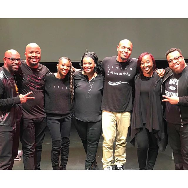 Fun time co-sponsoring this #ComediansOfSocialMedia tour stop w/ a team of greats! @kevonstage @tonybakercomedy @tahirmoore & @mrskevonstage were incredible. Looking forward to doing more #goodwork w/ @ollieneldascholarship