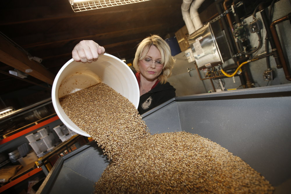 Jen grain in mill.JPG