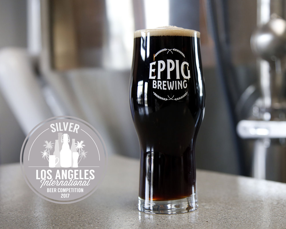 SCHWARZBIER GERMAN BLACK LAGER ABV 4.9%  IBU 21 Clean and balanced with light roast and notes of milk chocolate. Silver Medal, 2017 Los Angeles International Beer Competition (German Style Schwarzbier) Bronze Medal, 2017 California State Fair (Dark European Lager)