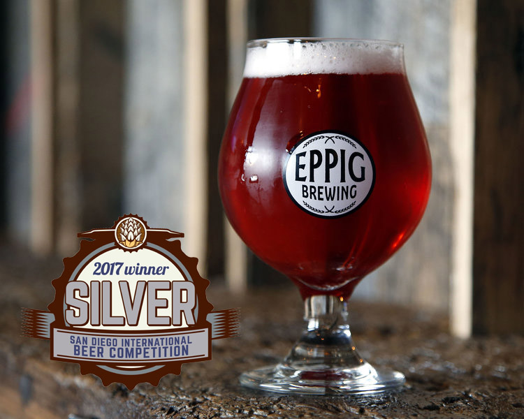 GLITZ AND GLAM  BERLINER WEISSE W/ RASPBERRY & CHERRY ABV 4.1%  IBU 8 Vibrant pink in color.  Big fruit nose, with a balanced acidity. Silver Medal, 2017 San Diego International Beer Competition (Fruit Beer)