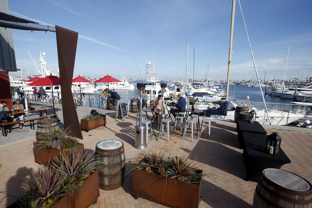 RESERVED PATIO AREA - (UP TO 65 GUESTS)Outdoor, waterfront patio event spaceSocial atmosphere with a mix of belly bars & barrelsOptions with & without hosted tab