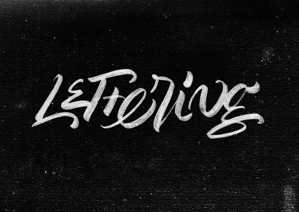 """Lettering"" - Lettering exercise"