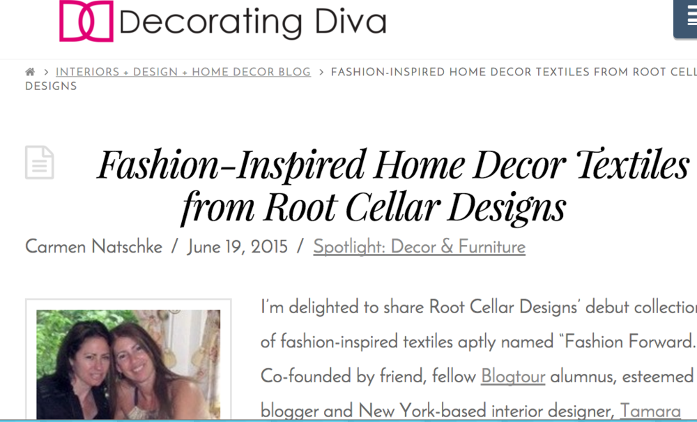 The Decorating Diva blog