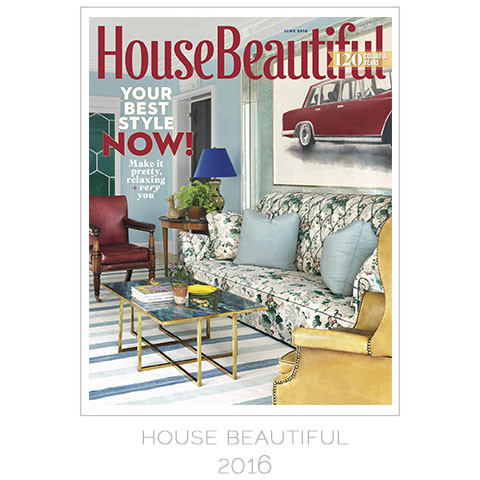 House Beautiful, June 2016