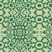 geo, minty emerald