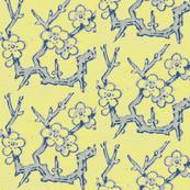 minton branch, citrine