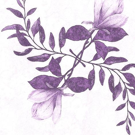 magnolia, violet