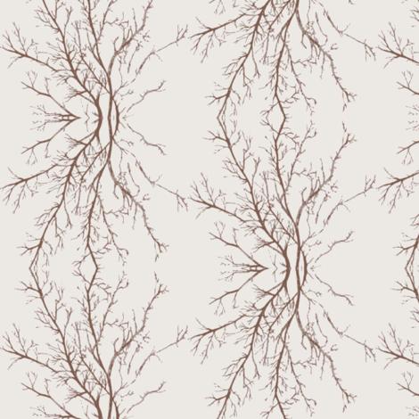 coral branchy, sepia