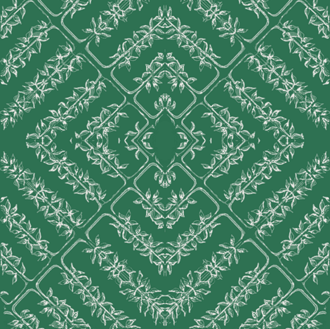 flora tile, evergreen