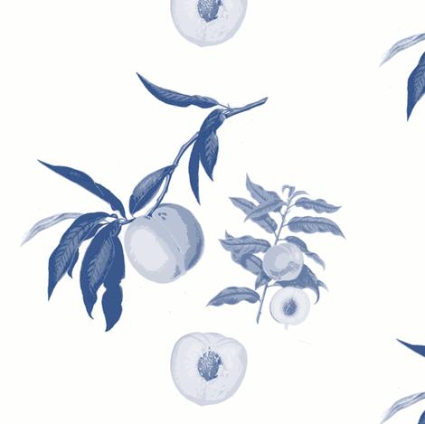 peach trio, milk/sapphire