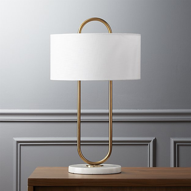 Warner Table Lamp CB2