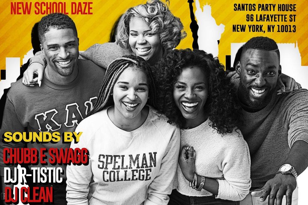 LTR: | Alex Tyree |Janyce| Dyandra Rayé | Deborah Ayorinde | Eric Adjepong