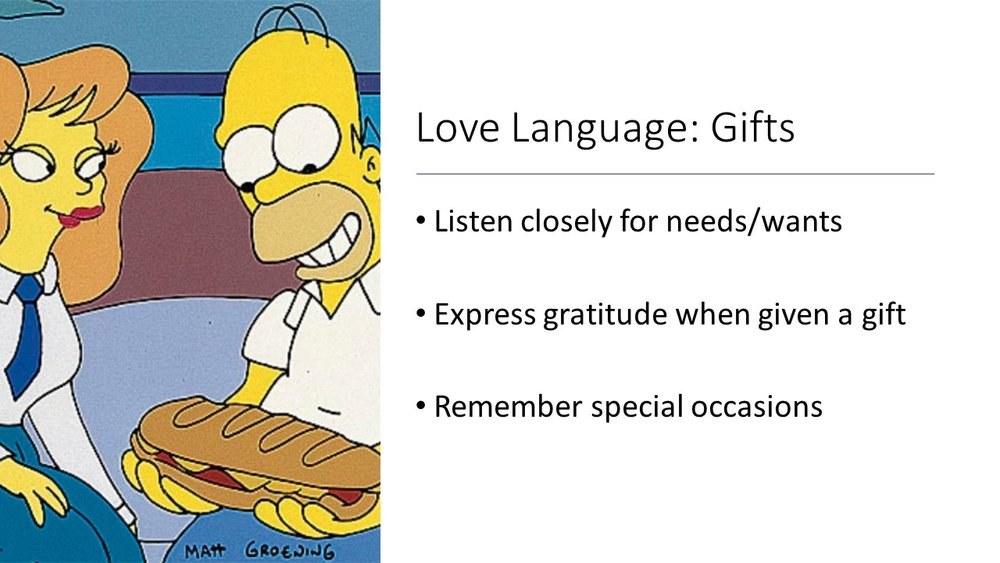 It's also important to not forget special occasions... especially if the person in your life with the love language of gifts is someone you work closely with.