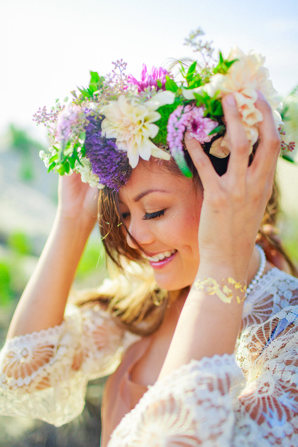 flower crowns worked like love potions,