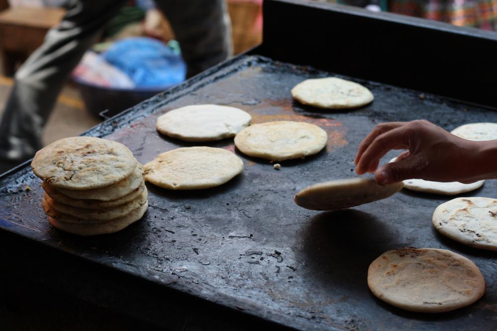 Guatemalan street food