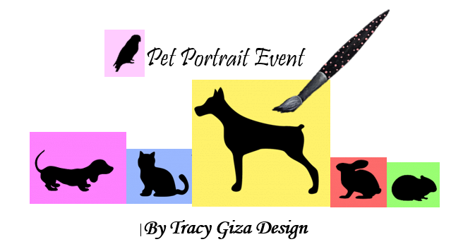 Paint your Pet! - Do you have a favorite pet you'd like to memorialize in a portrait forever?  This is the painting event for you.  Sign up for this creative painting class and learn the steps to painting a beautiful masterpiece of your favorite pet.  Dog, cat, horse, you name it!  Email a picture of your pet, I'll have your personalized painting lesson and canvas ready.  You will learn how to paint life into their eyes, strokes of soft fur and other significant features that will be sure to capture the personality of your beloved pet.