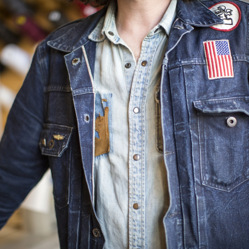 LEVI'S TAILOR TIPS - CHAINSTITCH EMBROIDERY