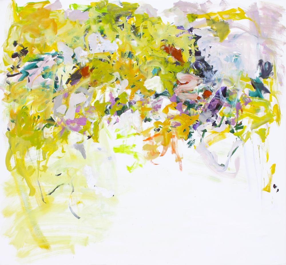 Ryan Cobourn, Zuma,2015, oil on canvas, 72 x 78 inches