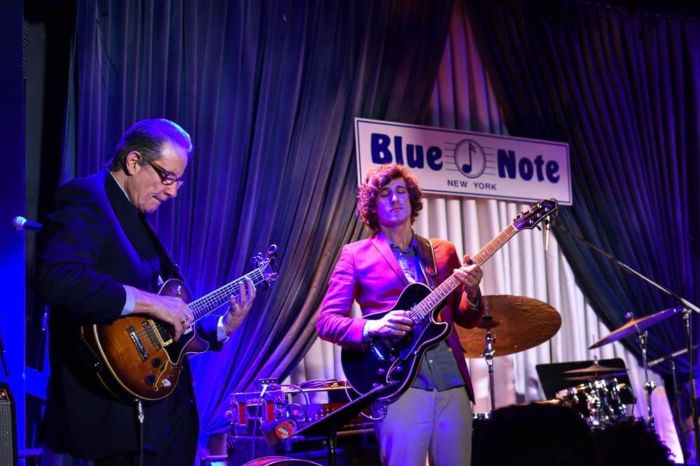 Duo with Vic Juris at Blue Note 2015