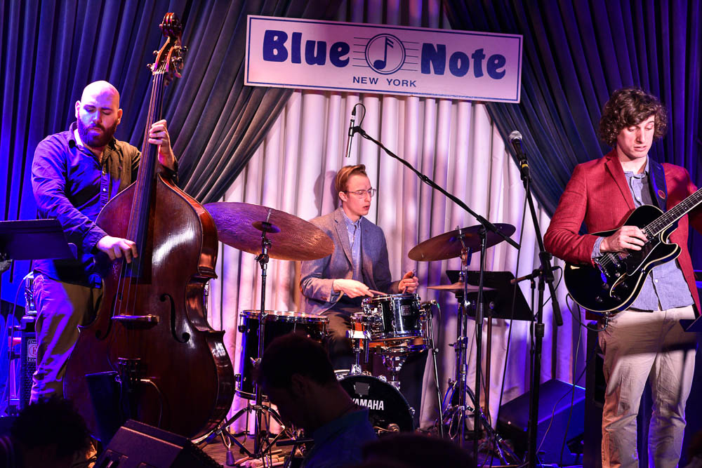 Taulant Mehmeti Trio at Blue Note 2015