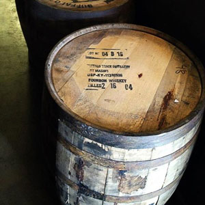 When you purchase an entire barrel, Buffalo Trace sends you the barrel. I'll offer ideas on what to do with empty barrels in another post.
