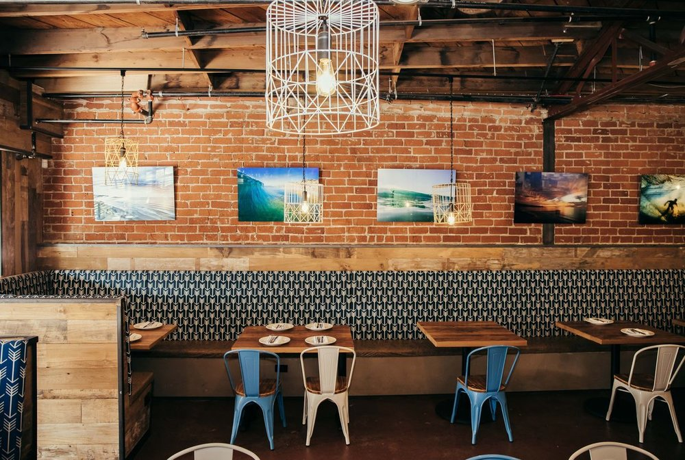 At opening, we featured local art from photographer John Maher. Check out more of his work  here .