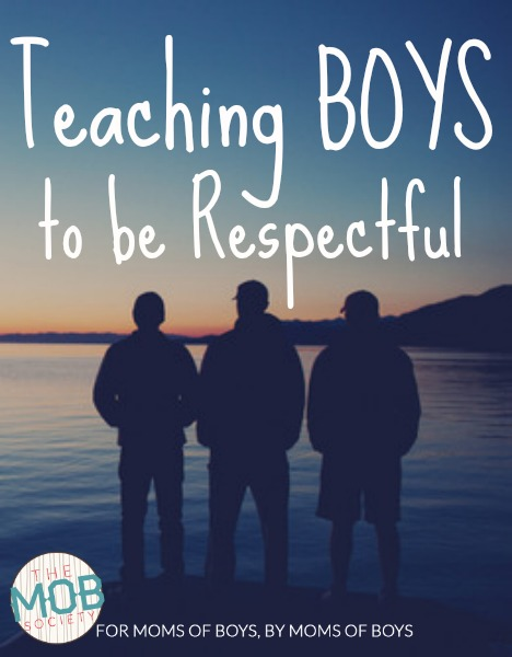 how to teach a child to be respectful