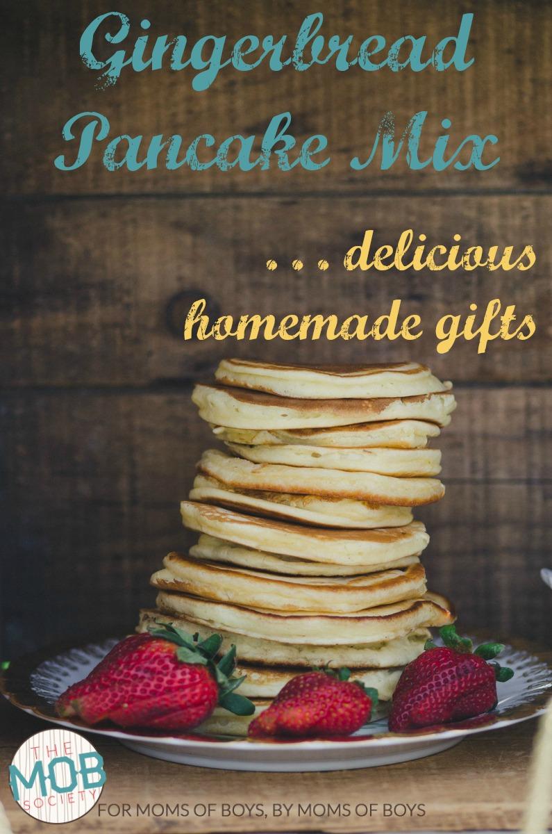 Gingerbread Pancake Mix | Makes delicious homemade Christmas gifts | MOB Society